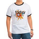 Happy Friday tee shirts - celebrate the weekend Ri