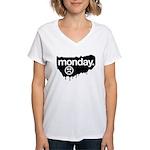 i don't like mondays Women's V-Neck T-Shirt