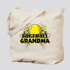 Softball Grandma (cross) Tote Bag