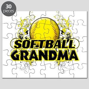 Softball Grandma (cross) Puzzle