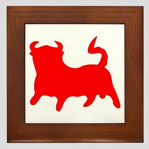 Red Bull Framed Tile