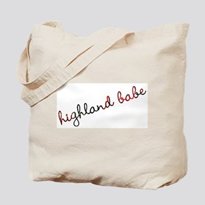 Highland Babe Tote Bag