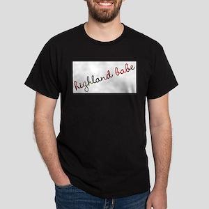 Highland Babe Dark T-Shirt