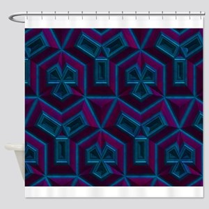 Purple king duvet Shower Curtain