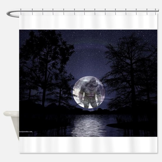 glbfrlarge2 Shower Curtain