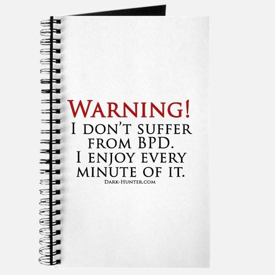 Warning BPD Journal