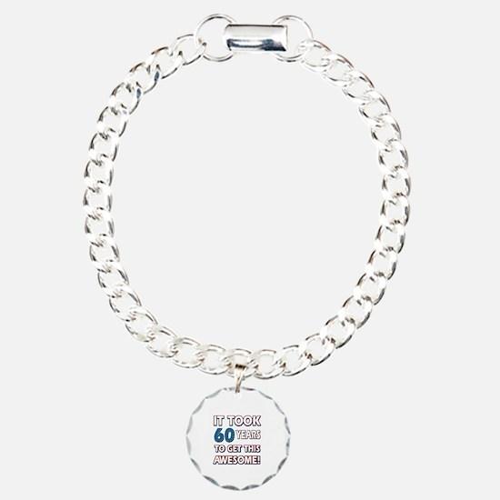 60 Year Old birthday gift ideas Bracelet