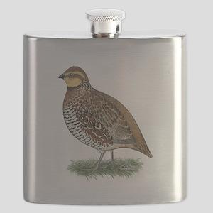 Bobwhite Quail Hen Flask
