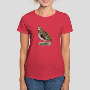 Bobwhite Quail Hen Women's Dark T-Shirt