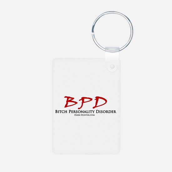 BPD Aluminum Photo Keychain