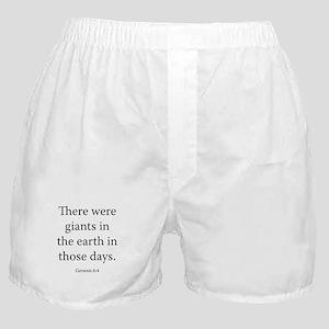 Genesis 6:4 Boxer Shorts