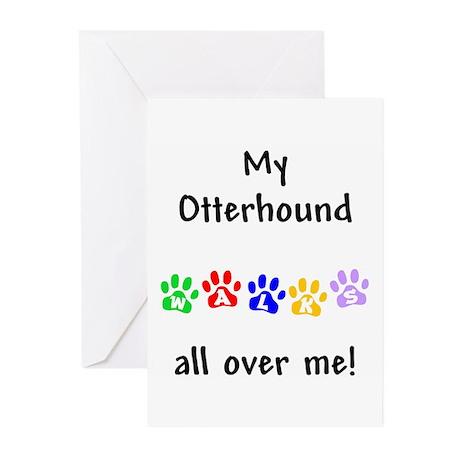 Otterhound Walks Greeting Cards (Pk of 10)