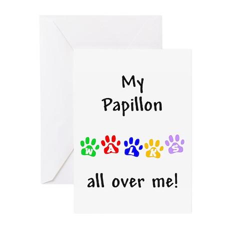 Papillon Walks Greeting Cards (Pk of 10)