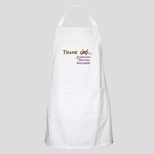 Thank Scientists Apron