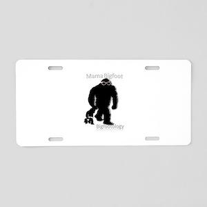 Mama Bigfoot Aluminum License Plate