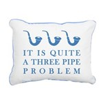 threepipeproblem3 Rectangular Canvas Pillow