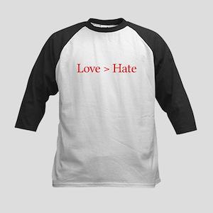 Love Hate Kids Baseball Jersey