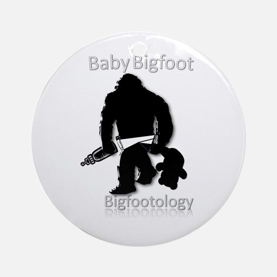 Baby Bigfoot Ornament (Round)