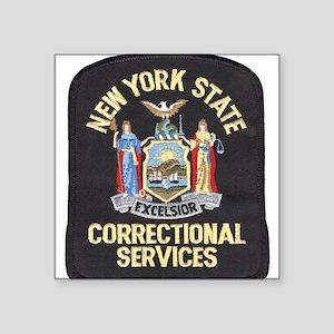 New York Corrections Rectangle Sticker