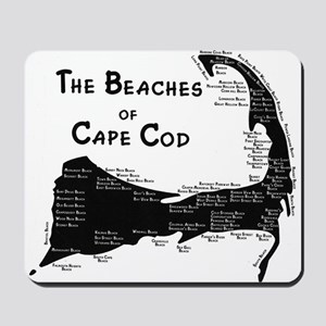 EVERY BEACH ON THE CAPE Mousepad