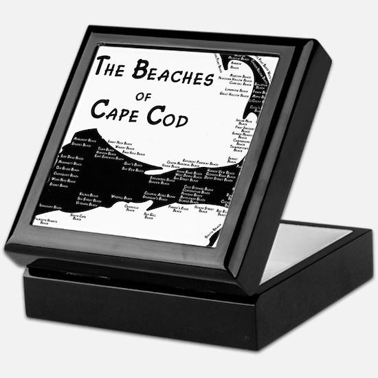 EVERY BEACH ON THE CAPE Keepsake Box
