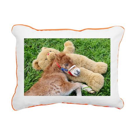 Joy Rectangular Canvas Pillow