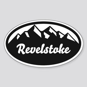 Revelstoke B.C. Sticker (Oval)