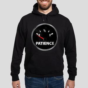 Out of Patience Fuel Gauge Hoodie (dark)