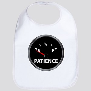 Out of Patience Fuel Gauge Bib