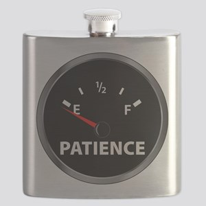 Out of Patience Fuel Gauge Flask