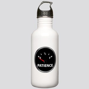 Out of Patience Fuel Gauge Stainless Water Bottle