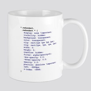 CSS Redundant Class Mug