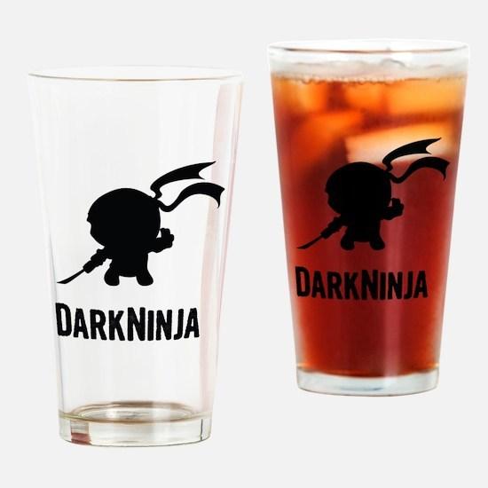 Dark Ninja Drinking Glass