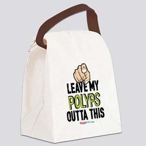 Leave Out Polyps 02 Canvas Lunch Bag