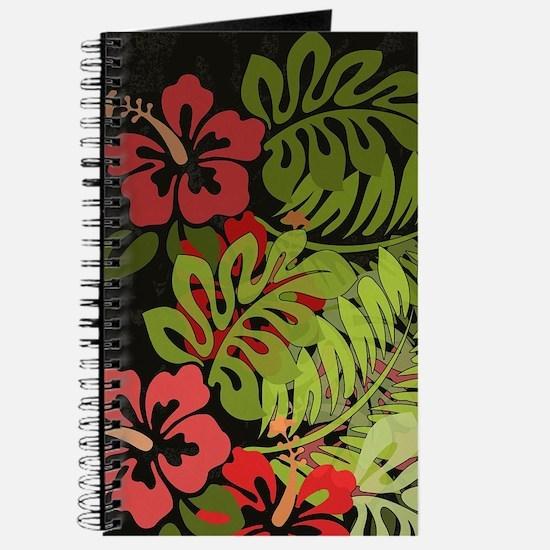 Hawaiian Flower Artwork Print Design Journal