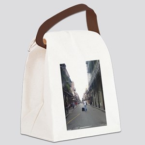 French Quarter musician Canvas Lunch Bag