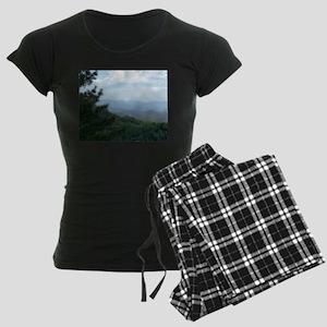 Great Smoky Mountains I Women's Dark Pajamas