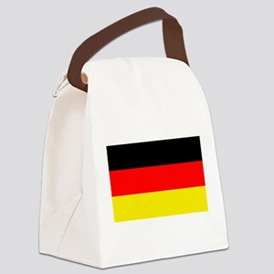 German Flag Canvas Lunch Bag