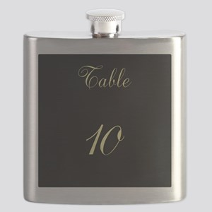 Table Number Flask