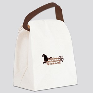 This is the life of a Witch Canvas Lunch Bag