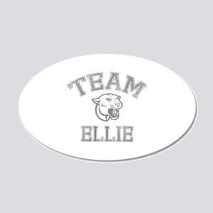 Team Ellie 22x14 Oval Wall Peel
