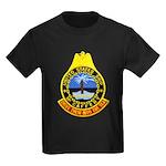 USS McCAFFERY Kids Dark T-Shirt