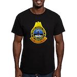 USS McCAFFERY Men's Fitted T-Shirt (dark)