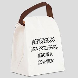 Aspergers Geek Canvas Lunch Bag