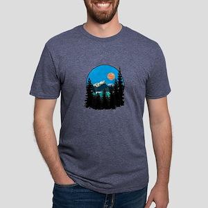 FINE DAY Mens Tri-blend T-Shirt