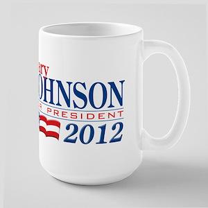 Gary Johnson Large Mug
