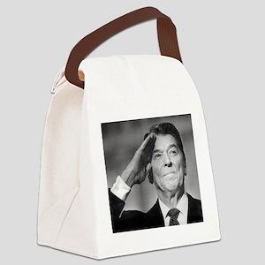 Ronald Reagan Canvas Lunch Bag