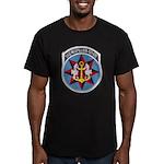 USS MISPILLION Men's Fitted T-Shirt (dark)