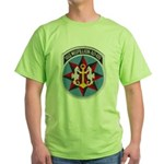 USS MISPILLION Green T-Shirt