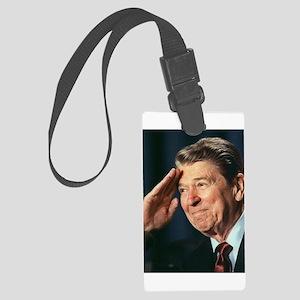 Ronald Reagan Large Luggage Tag